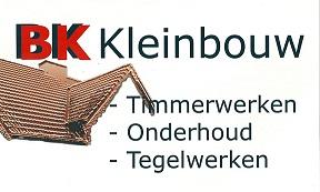 Bouwbedrijf B.K Kleinbouw, Bart, Klomp, BK Kleinbouw, Kostersweg 12, 7371 ES, Loenen, 055 505 2524, 06 53690029, BKKleinbouw@hotmail.com